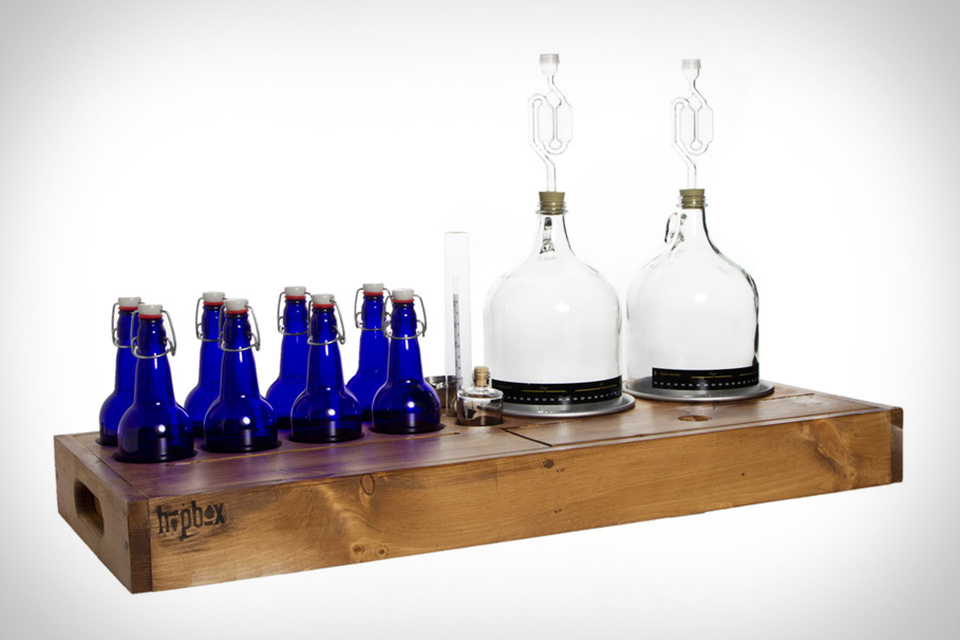 Box Brew Double Barrel Home-Brewing Kit