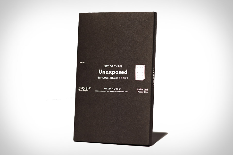 Field Notes Unexposed Notebooks