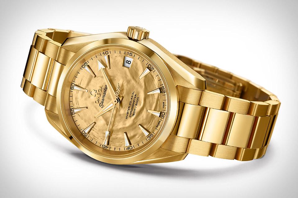 Omega Seamaster Aqua Terra Goldfinger Watch