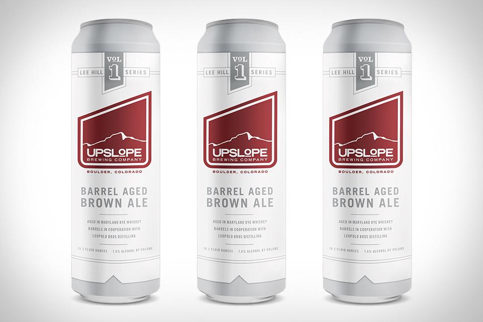 Upslope Barrel Aged Brown Ale