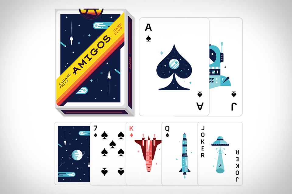 Amigos Playing Cards