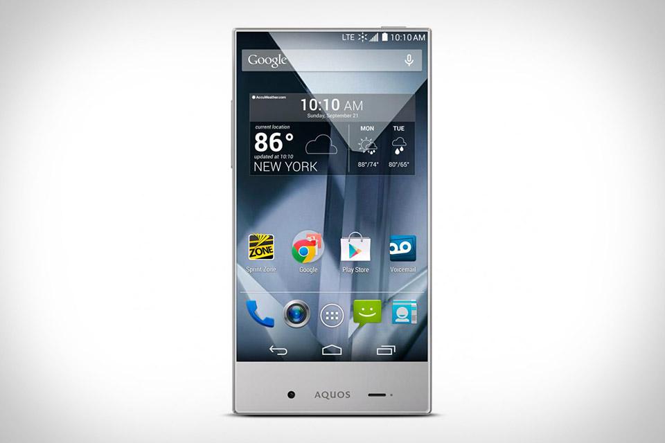 Sharp Aquos Crystal Phone