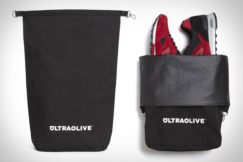 Ultraolive Taped Seam Dry Bag | Uncrate