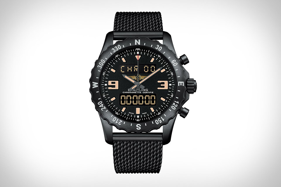 Breitling Chronospace Military Watch