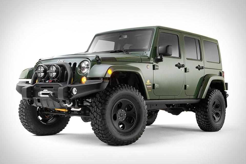 Filson x AEV Jeep Wrangler | Uncrate