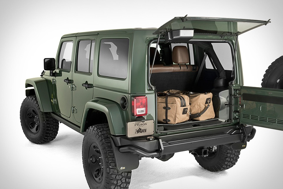 Filson X Aev Jeep Wrangler Uncrate