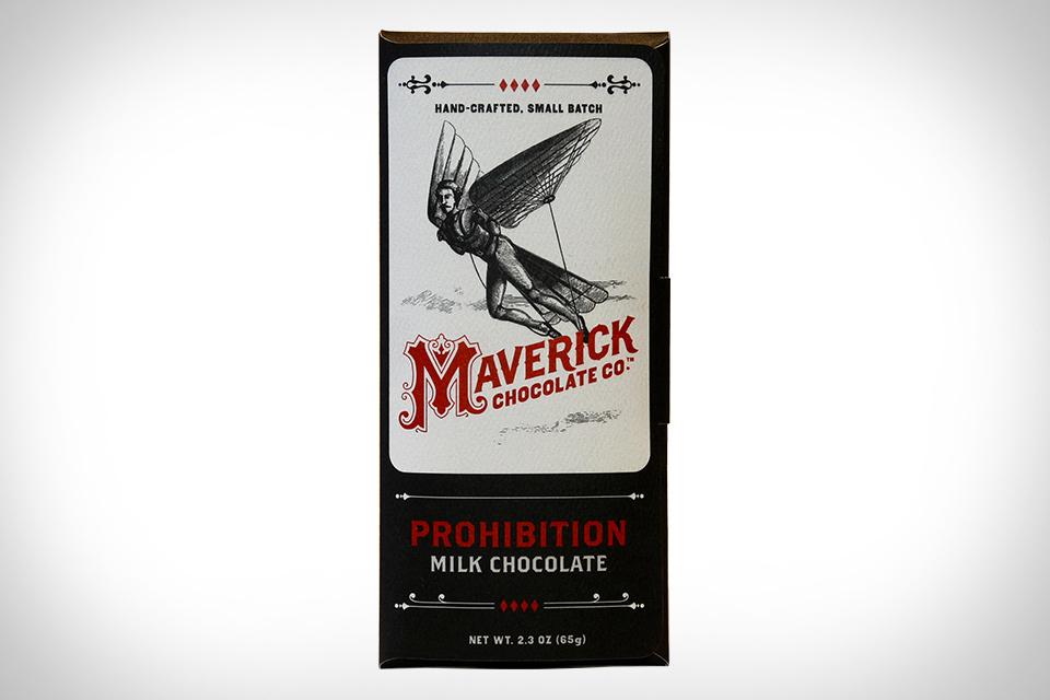 Maverick Prohibition Bourbon Chocolate