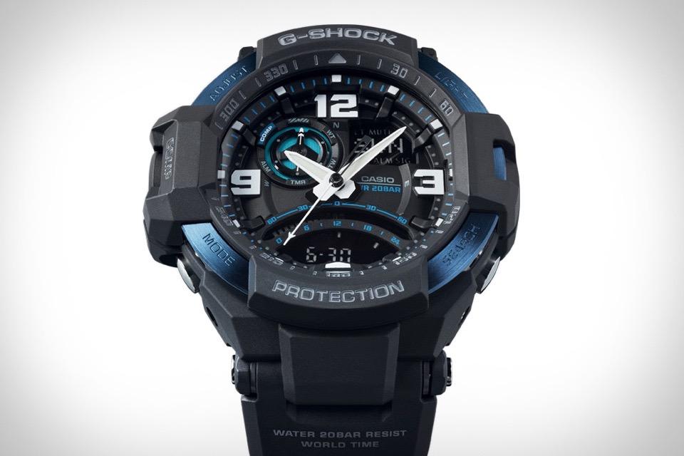 Casio G-Shock Aviation Watch