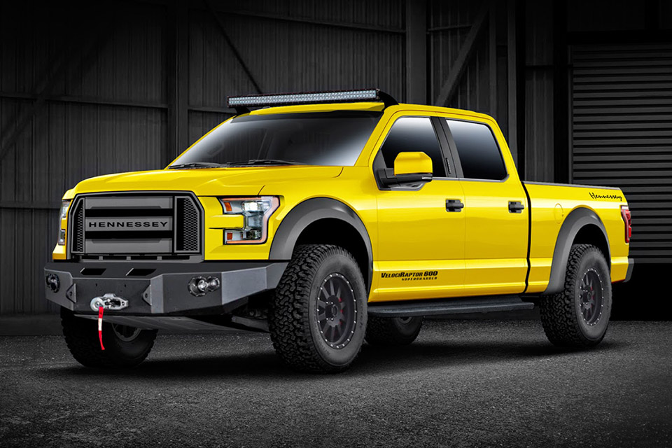 2015 Hennessey Velociraptor 600 Supercharged Ford F 150