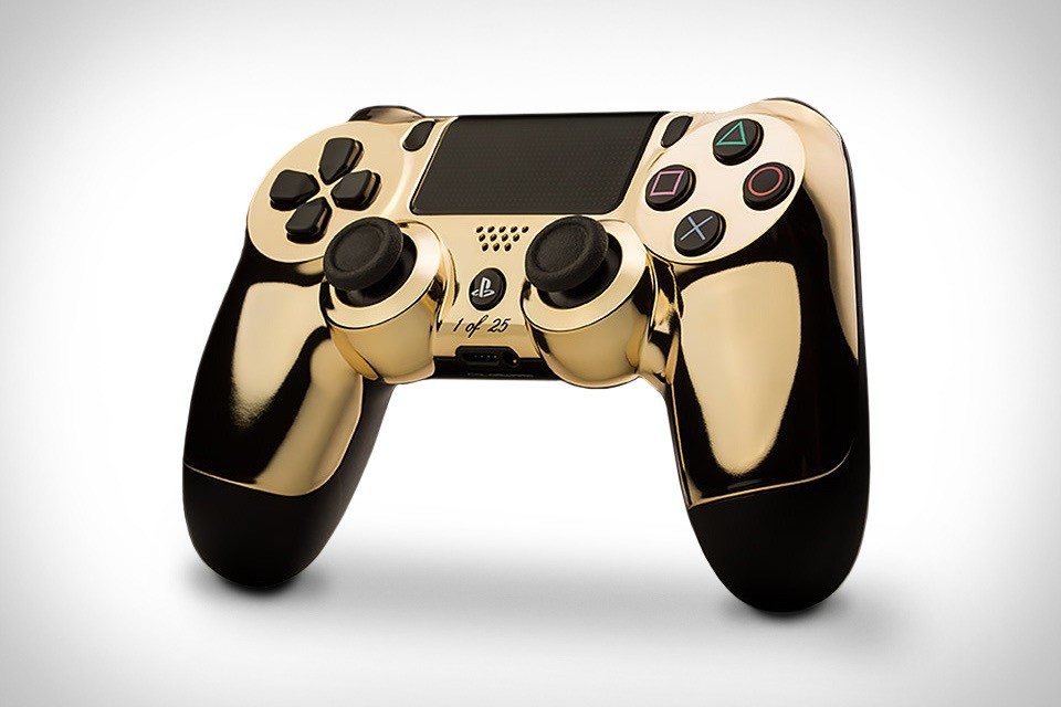 Colorware 24K Gold Controllers