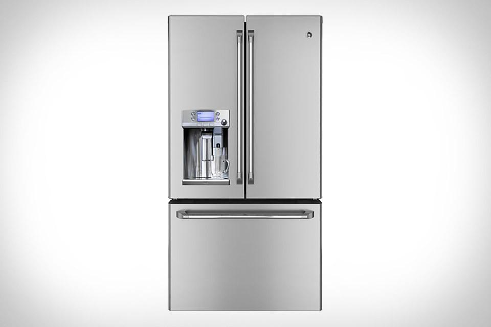 GE Cafe Refrigerator with Keurig K-Cup Brewing System