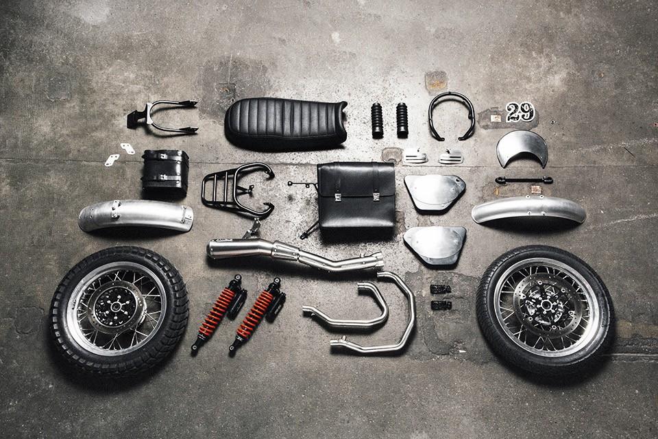 Moto Guzzi V7 Motorcycle Kits