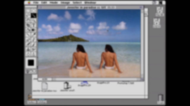 The First Photoshop Tutorial