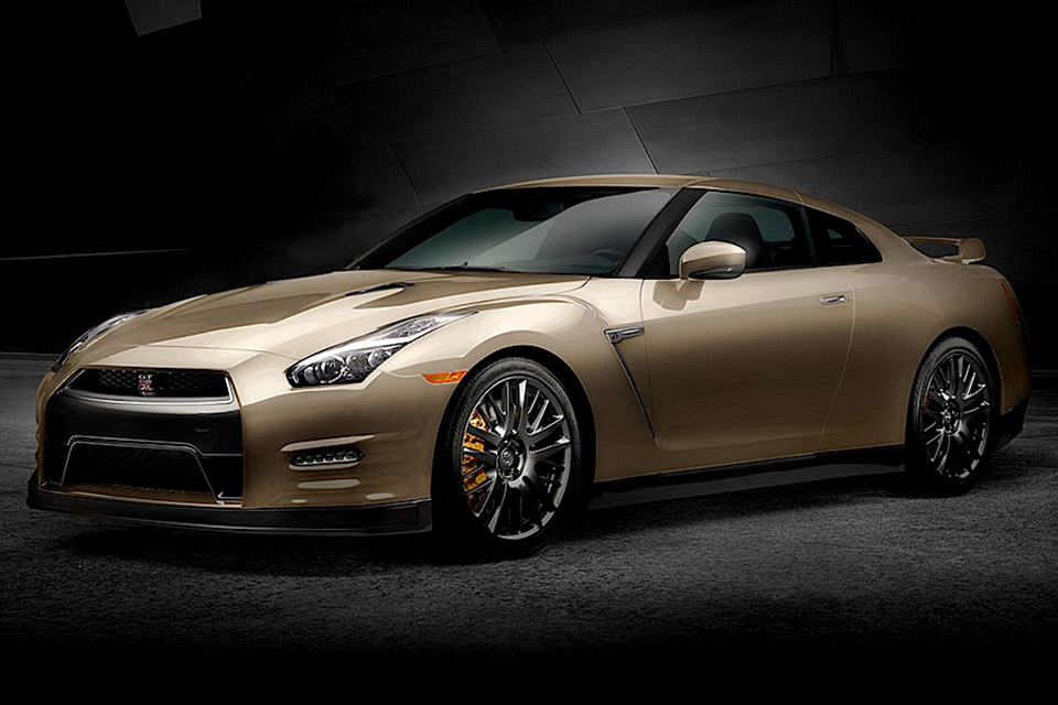 2016 Nissan GT-R 45th Anniversary Gold Edition | Uncrate