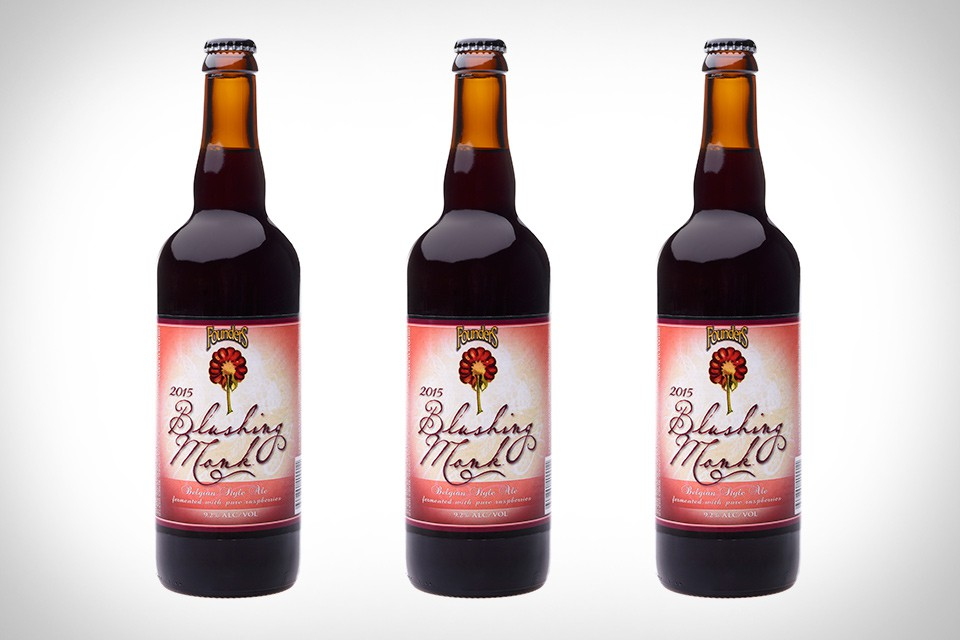 Founders Blushing Monk Beer