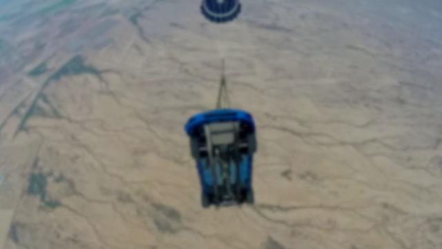 Furious 7 Parachute Drop Uncrate