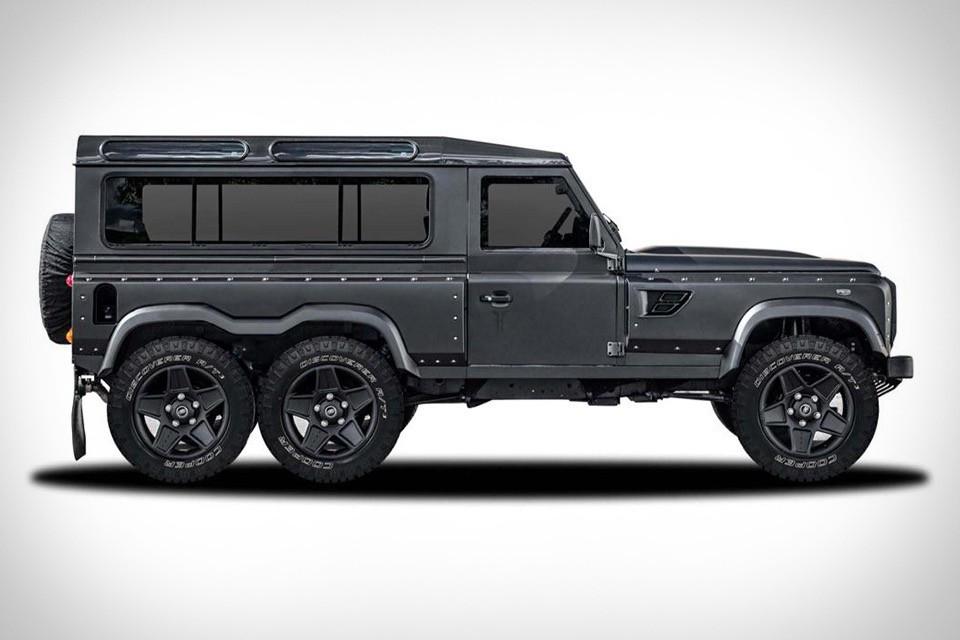 Land Rover Defender 6x6 Concept Uncrate