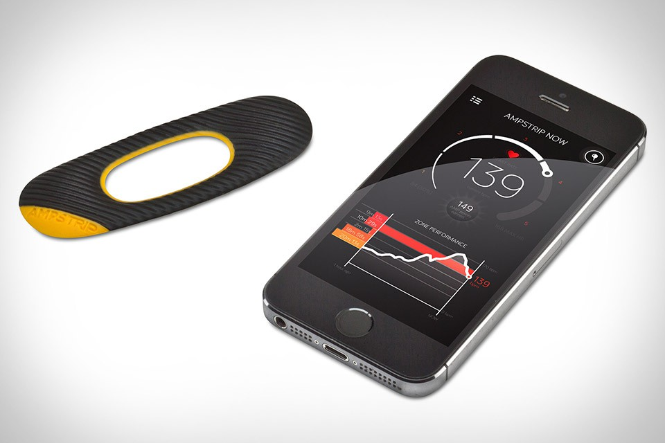 AmpStrip Heart Rate Monitor