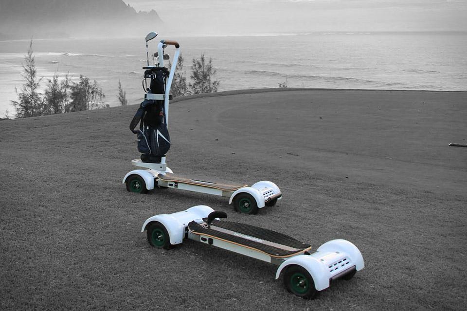 Golfboard | Uncrate on michael jordan golf cart, adam sandler golf cart, tiger woods golf cart, peyton manning golf cart, surfing golf cart, jeff gordon golf cart,