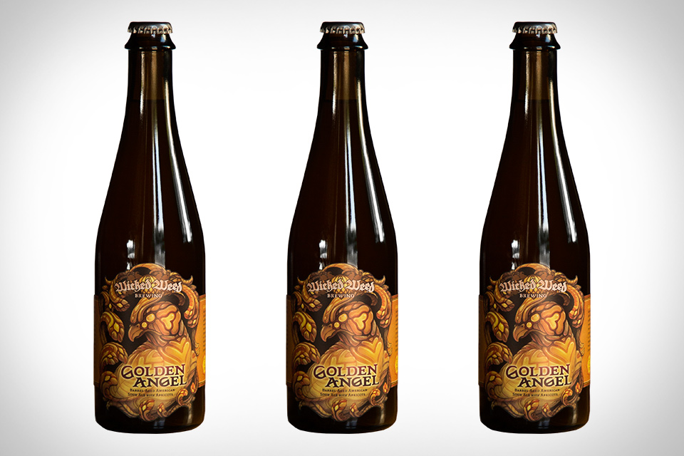 Wicked Weed Golden Angel Beer