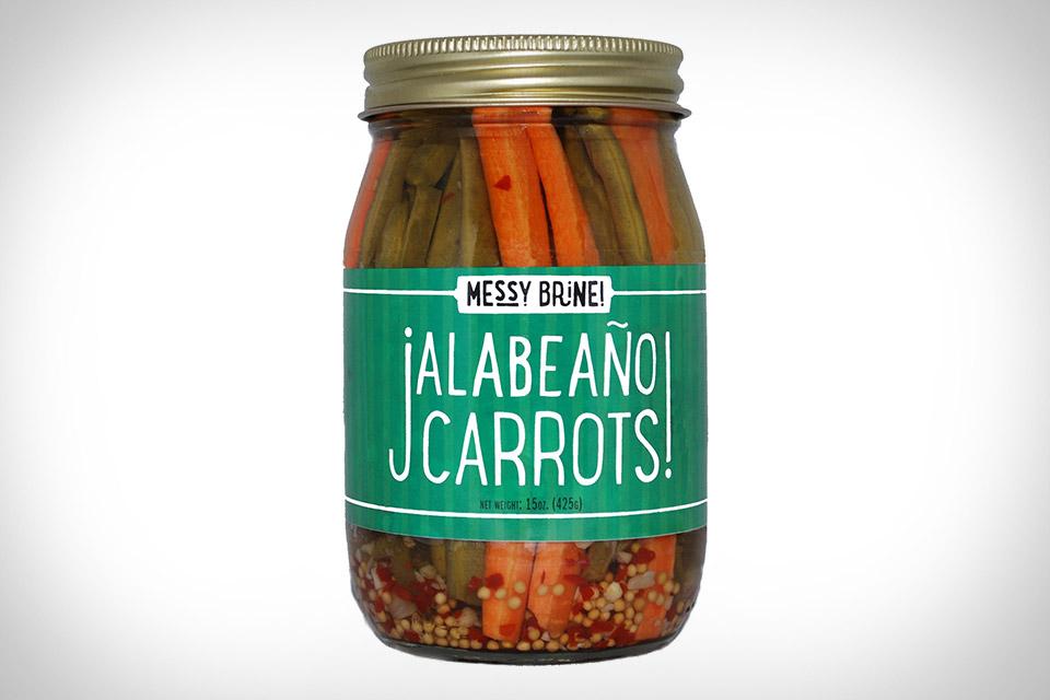 Messy Brine Jalabeano Carrots