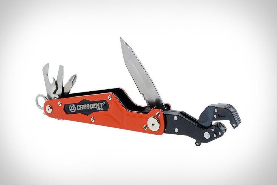 Crescent Flip & Grip Wrench Multi-Tool