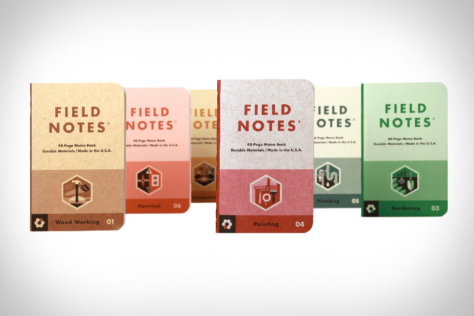 Field Notes Workshop Companion Notebook Set