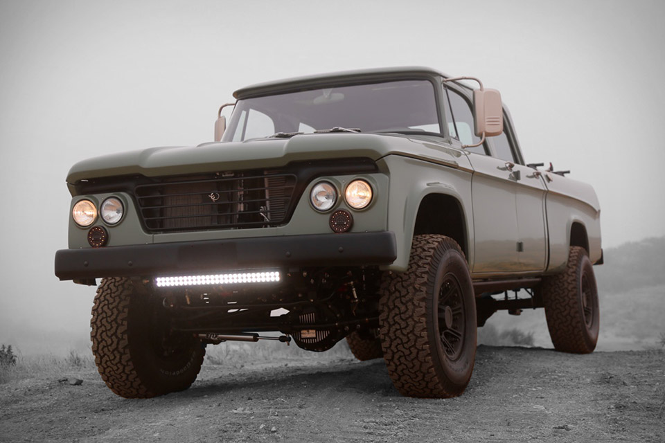 Icon Dodge Power Wagon Crew Cab Uncrate