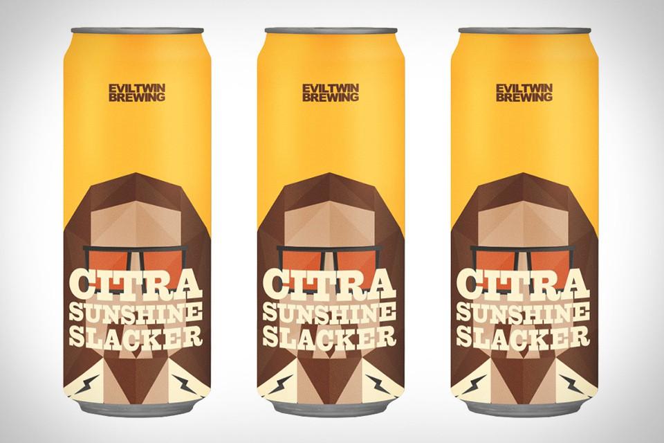 Evil Twin Citra Sunshine Slacker Beer