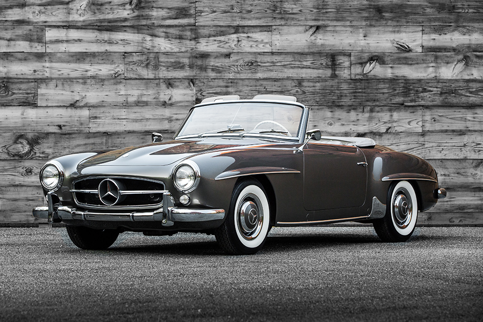 1960 mercedes benz 190sl uncrate for Mercedes benz 190 sl for sale