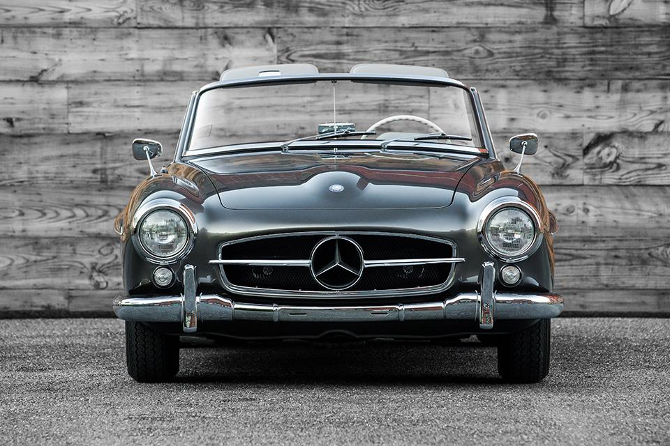 1960 Mercedes Benz 190sl Uncrate