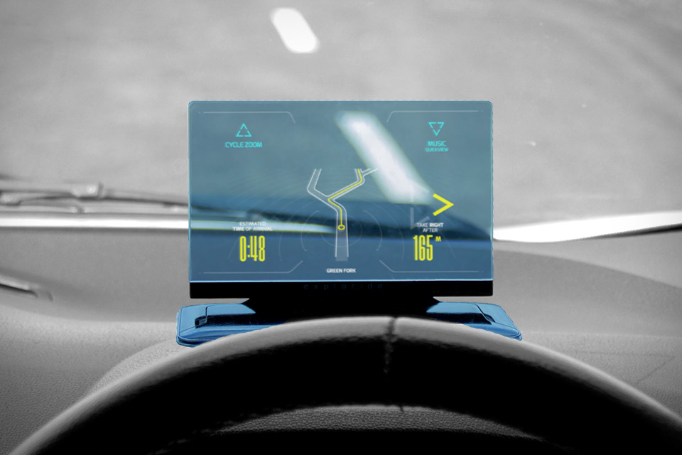 Exploride Heads Up Car Display Uncrate