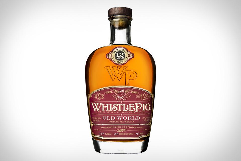 WhistlePig Old World Rye Whiskey