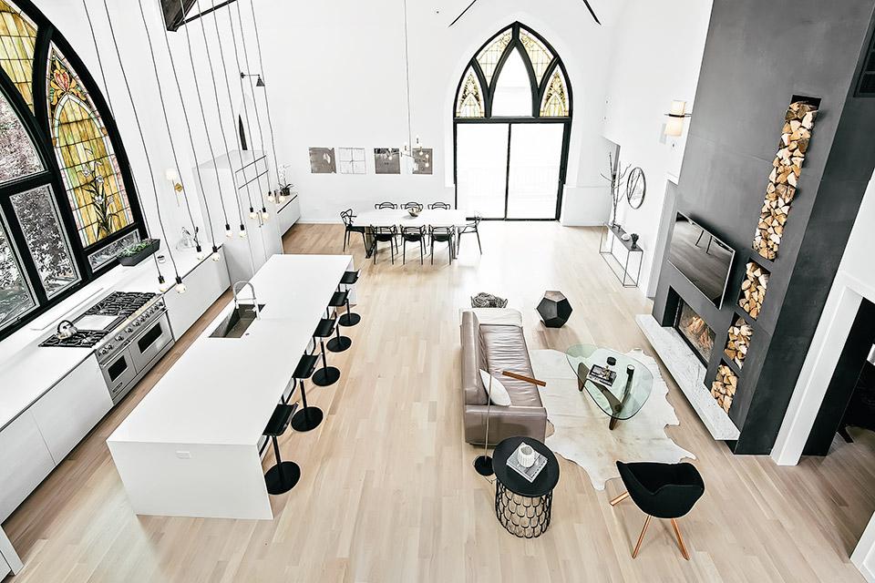 chicago church conversion | uncrate