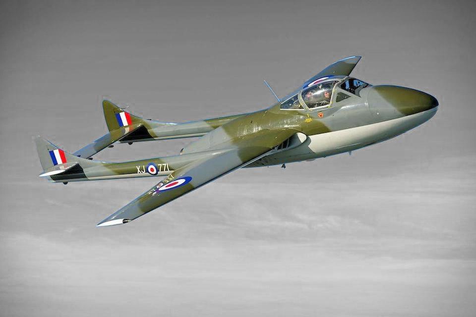 My Feedly: 1958 De Havilland Vampire T55 Jet – Your ...