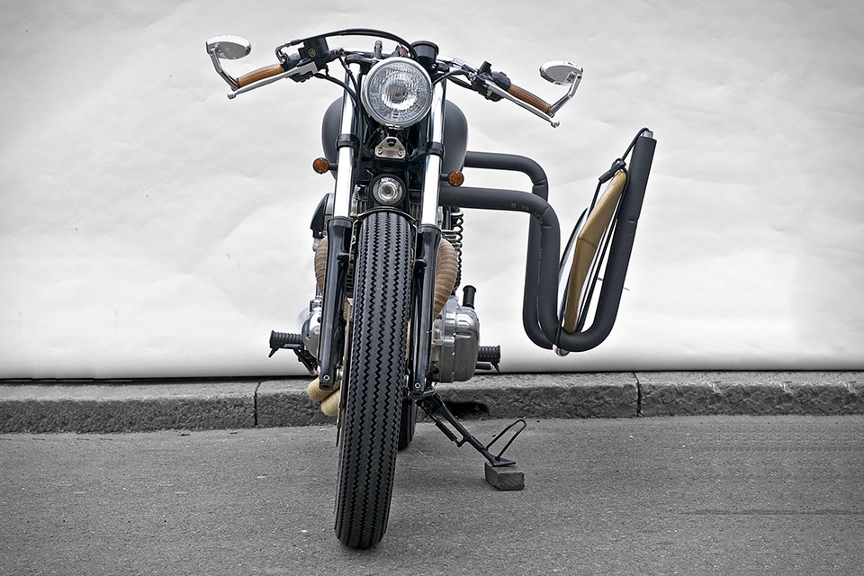 Deus Ex Machina Red Pill Motorcycle