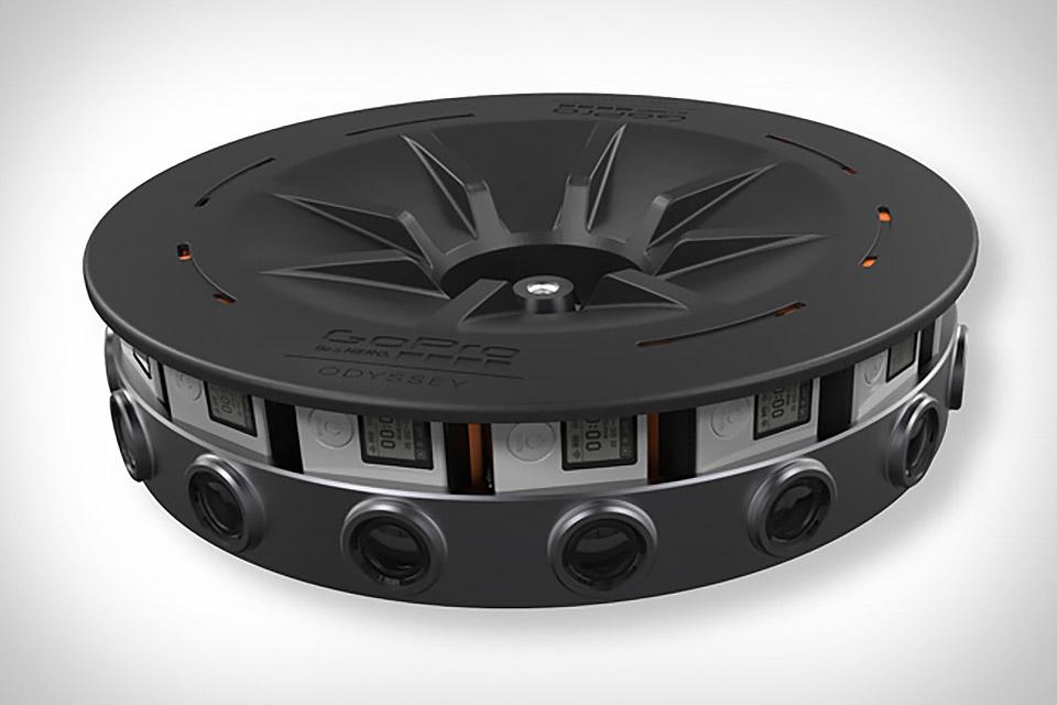 GoPro Odyssey VR Camera Rig