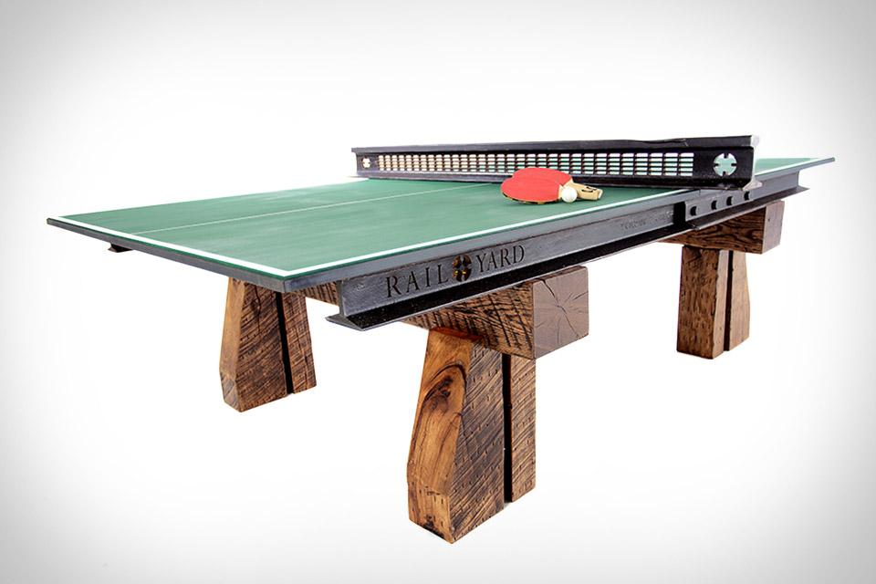Railyard Ping Pong Table