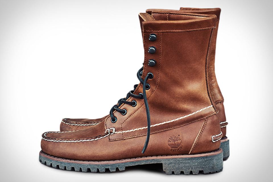 Timberland Authentics Rugged Handsewn Boots
