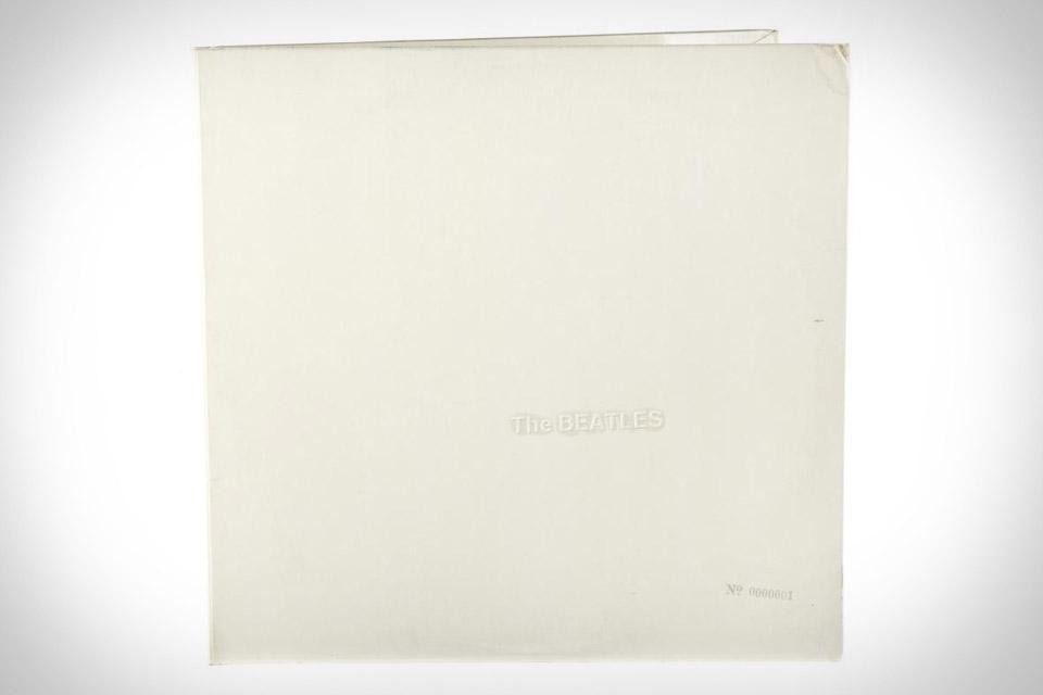 The Beatles White Album Pressing No. 0000001
