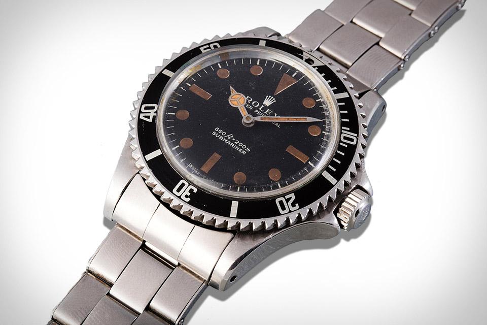 James Bond's Rolex Submariner Buzzsaw Watch