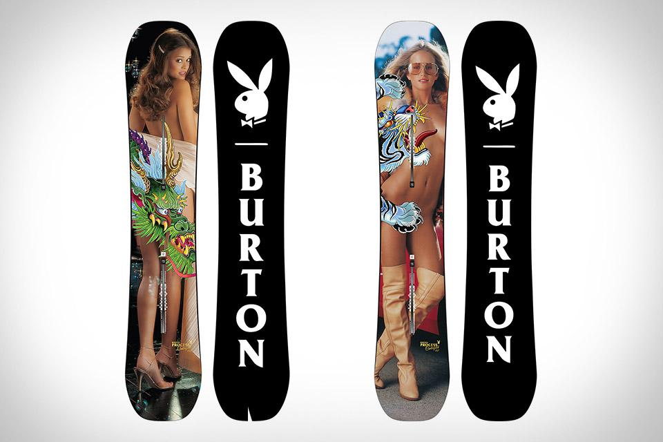 Burton x Playboy Centerfold Snowboards