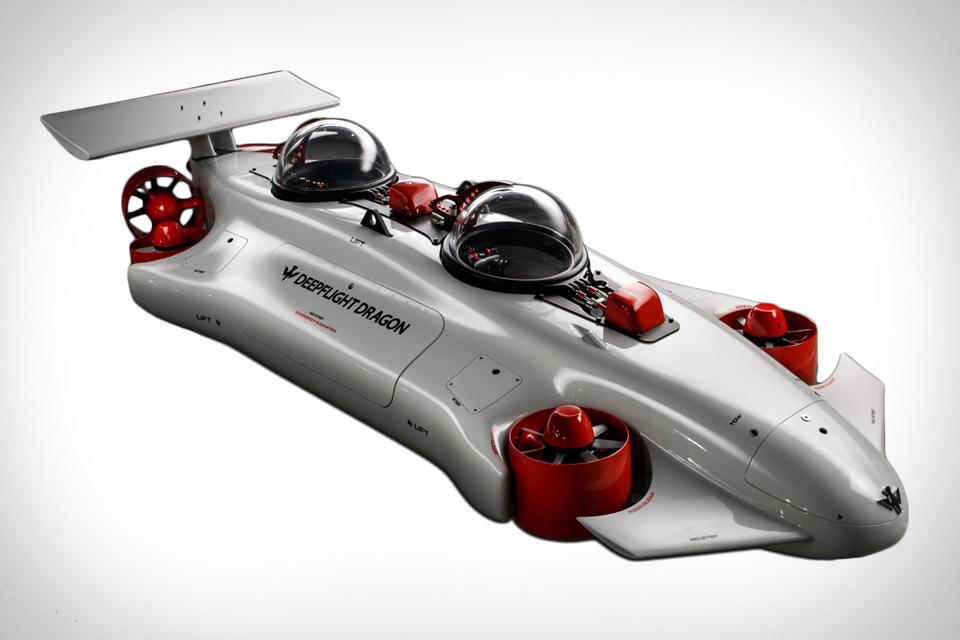 Deepflight Dragon Submarine