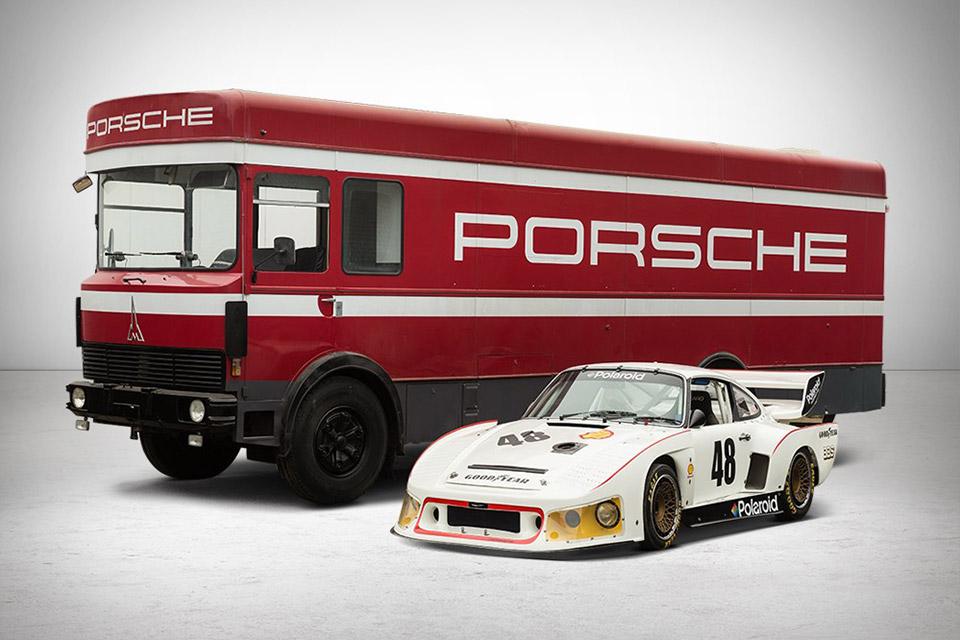 1977 Porsche 935 & Transporter