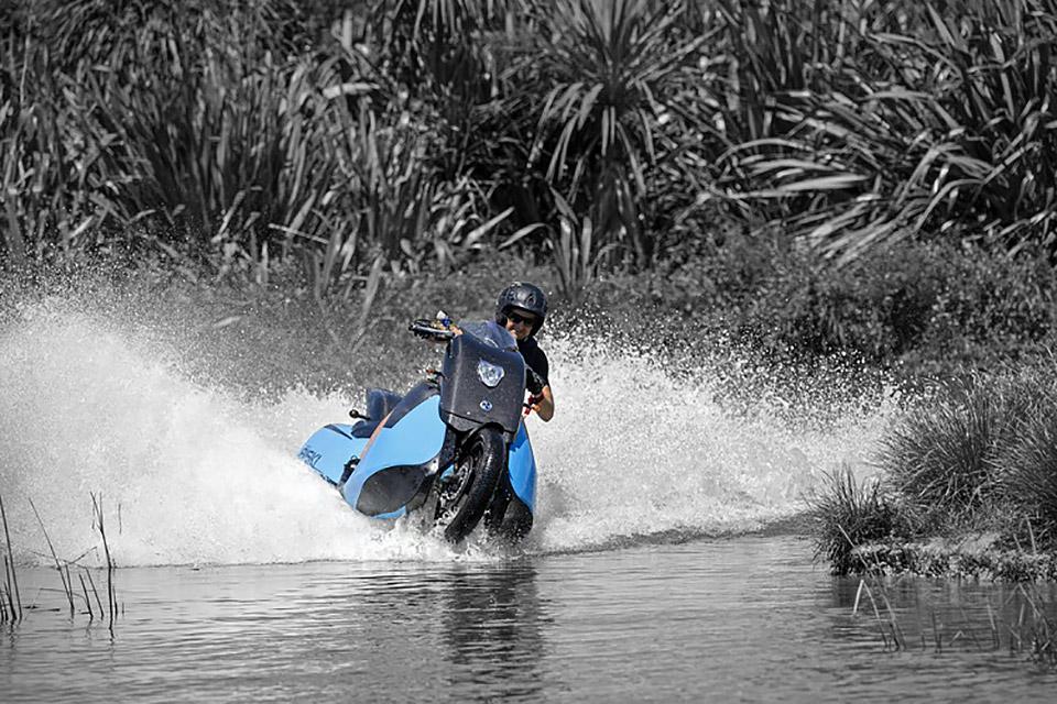 Biski Amphibious Motorcycle