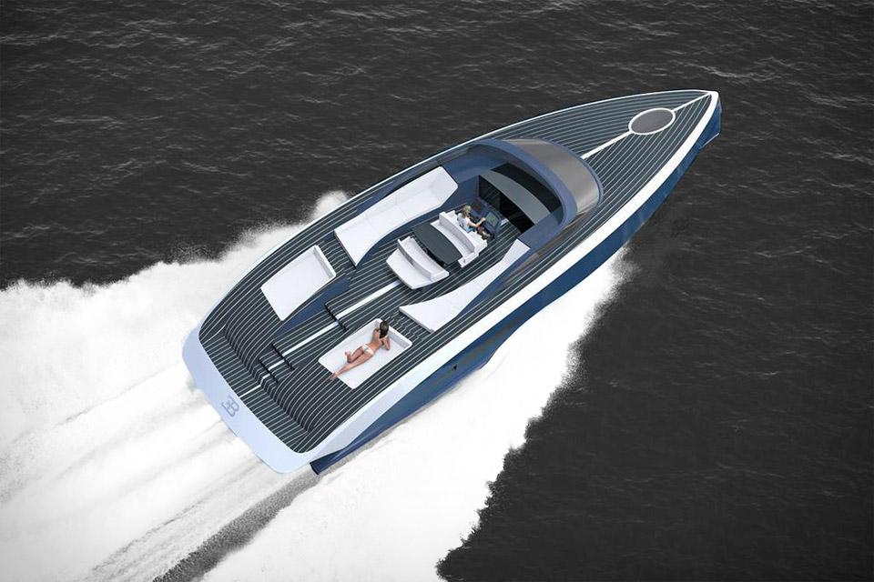 Bugatti x Palmer Johnson Yacht