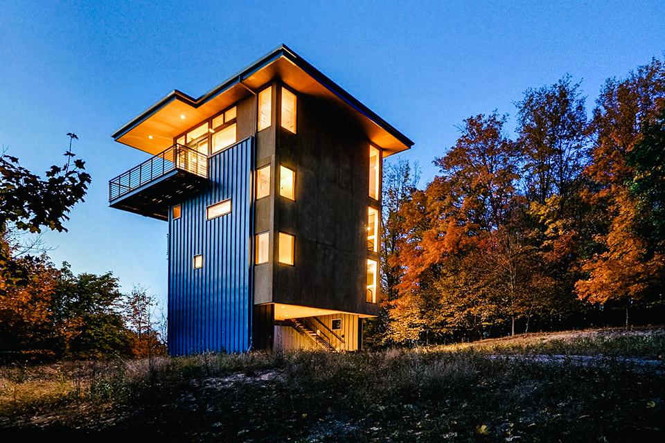 Glen Lake Tower House
