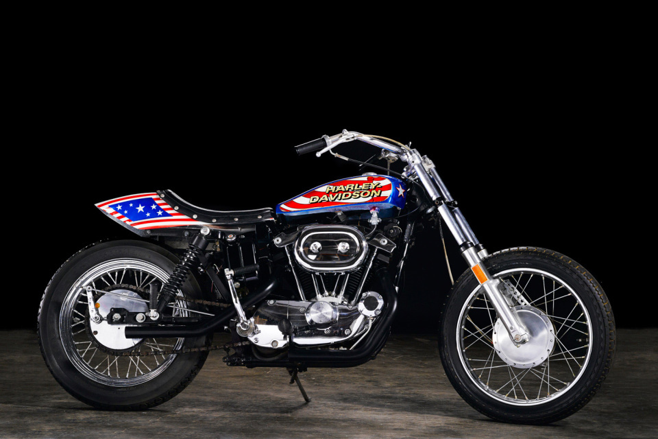 Evel Knievel's 1976 Harley-Davidson XL1000 Motorcycle