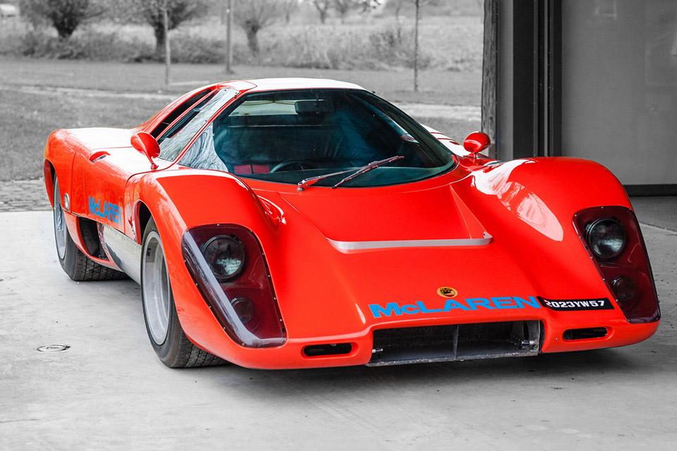 1969 McLaren M12 Coupe