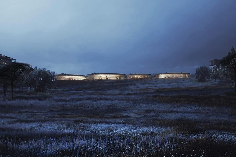 Mir Unbuilt Architecture